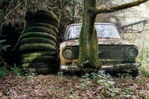 רכב לפירוק משרד הרישוי